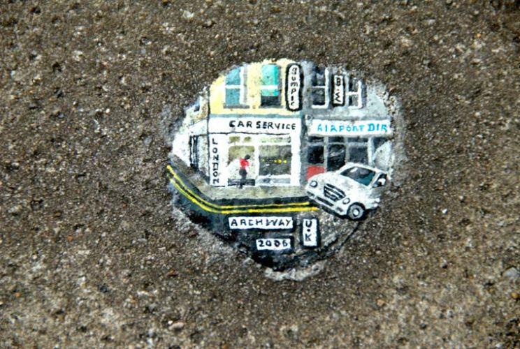 Ben Wilson : t'aurais pas un chewing-gum ?