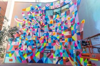 Maya Hayuk : street art psychédélique