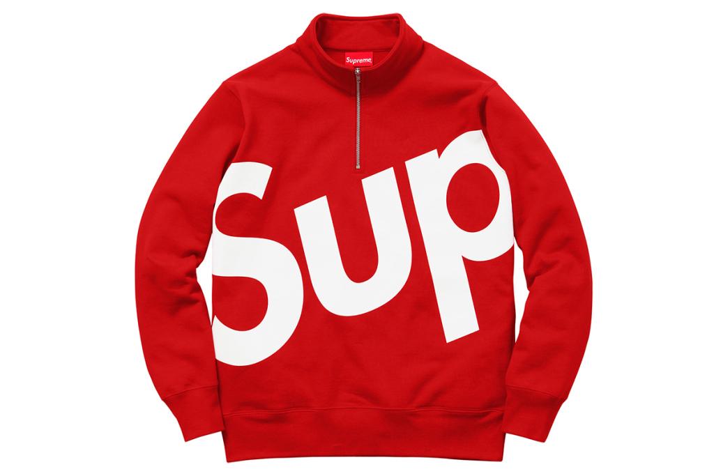 Supreme dévoile sa collection apparel automne / hiver 2015