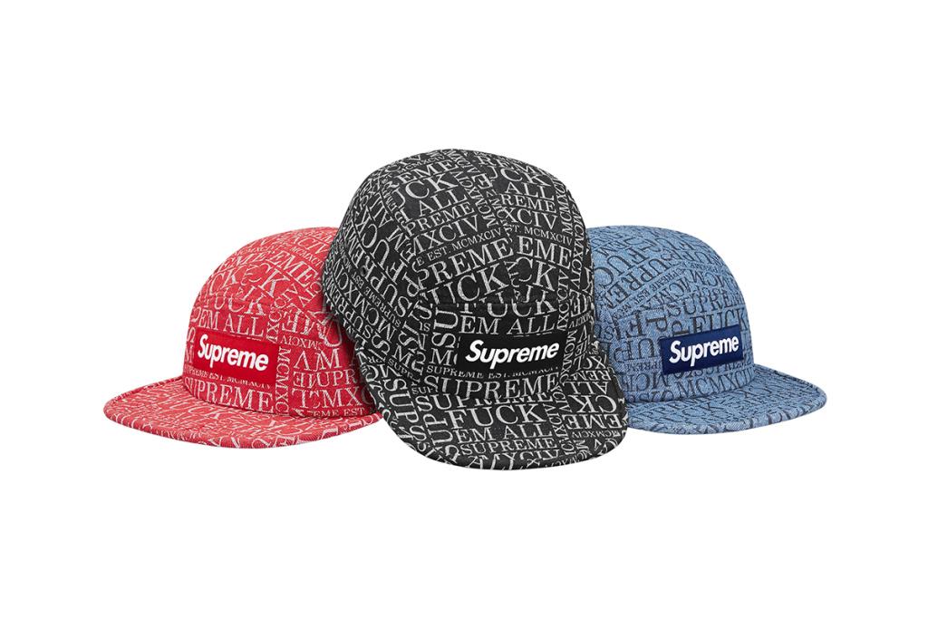 La nouvelle collection Headwear Supreme Automne / Hiver 2015