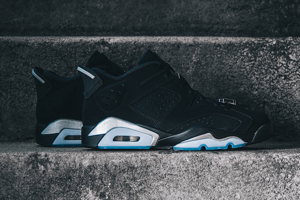 Zoom sur la nouvelle Air Jordan 6 Retro Low « Chrome »