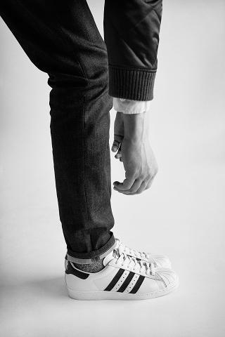 Pharrell Williams & Pusha T pour le lookbook adidas Originals