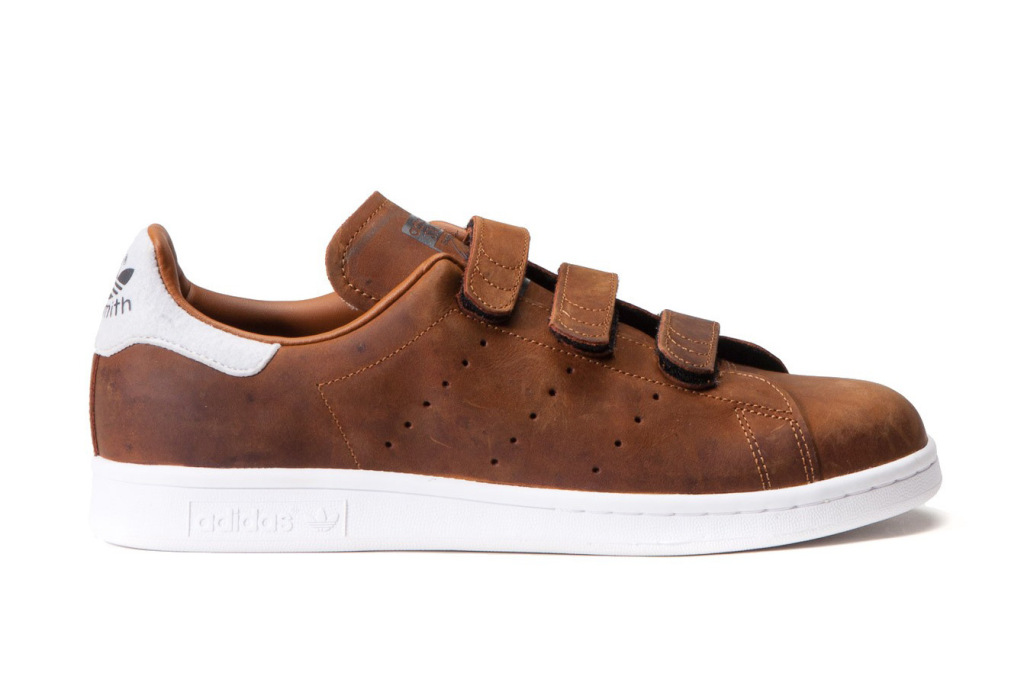 Zoom sur : adidas Originals Stan Smith CF « Night Brown »