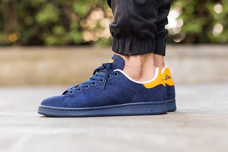 adidas originals stan smith bleu