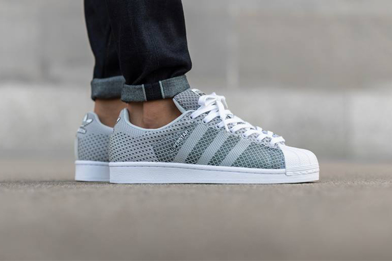 Aperçu de la nouvelle adidas Originals Superstar Weave « Clear Grey »