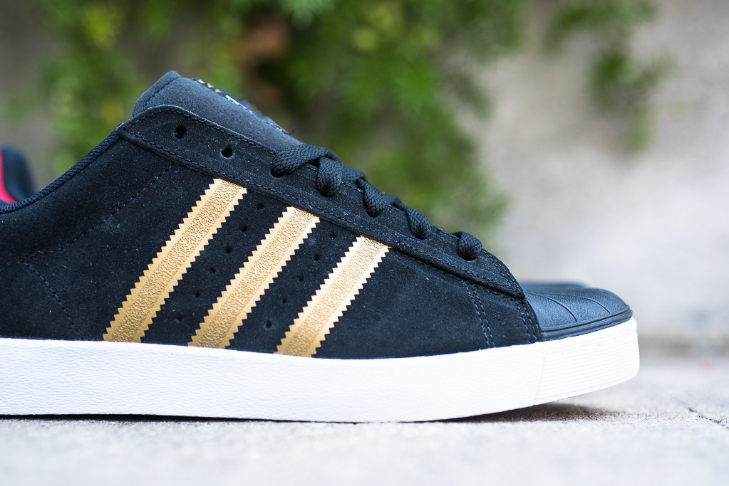 Cheap Adidas Superstar Vulc ADV (White / White / Navy) baselineskateshop