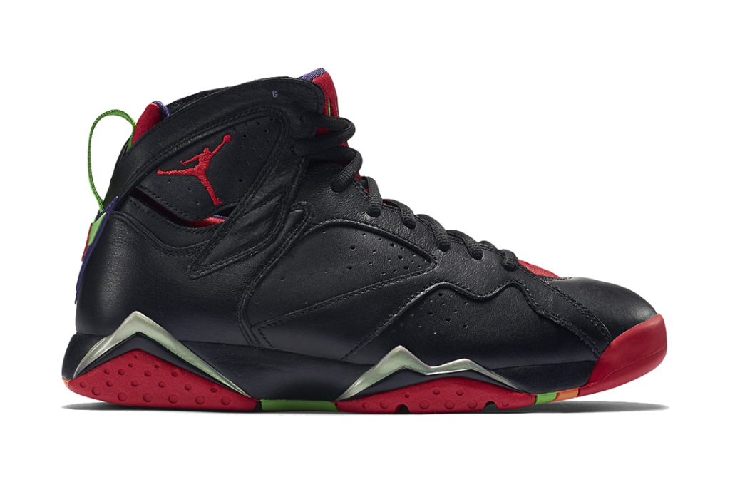 Aperçu de la nouvelle Air Jordan 7 Retro « Marvin The Martian »