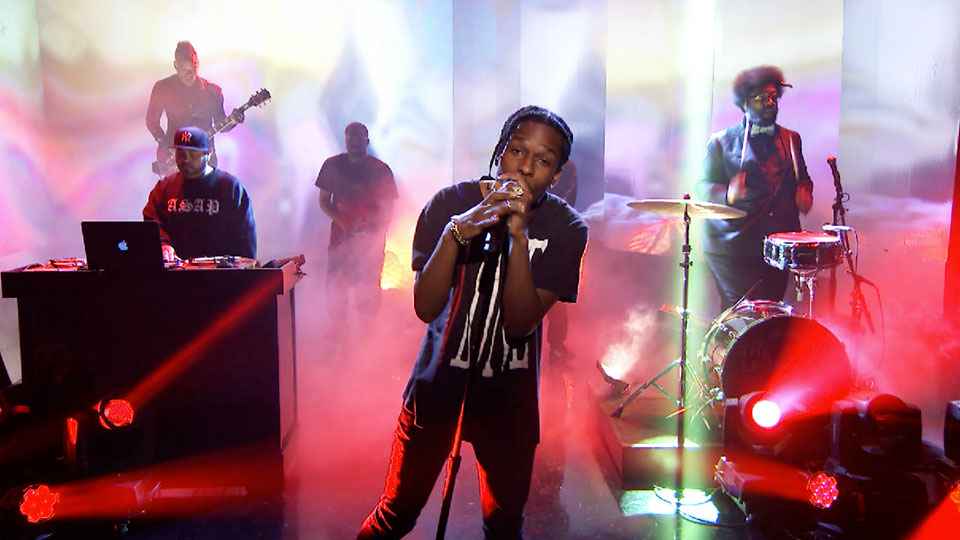 A$AP Rocky sans Kanye West dans le clip 'Jukebox Joints'
