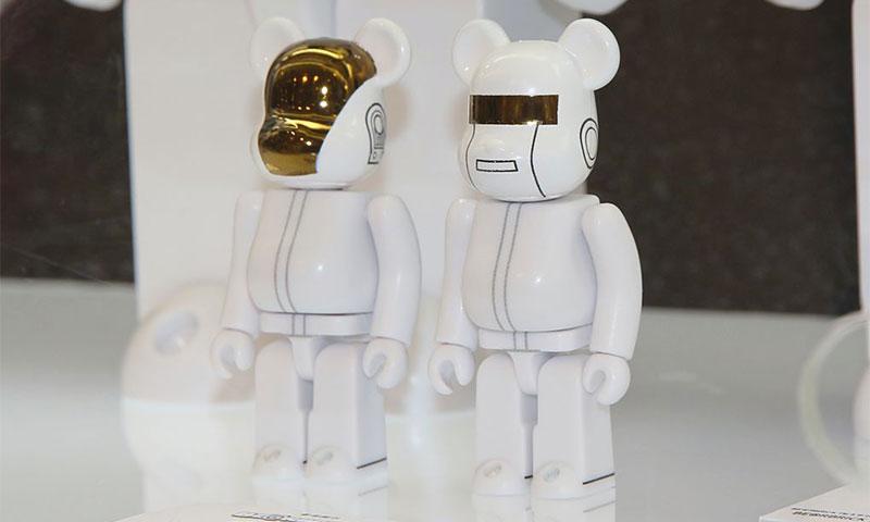 Daft Punk réinvente les Medicom Toy Bearbrick