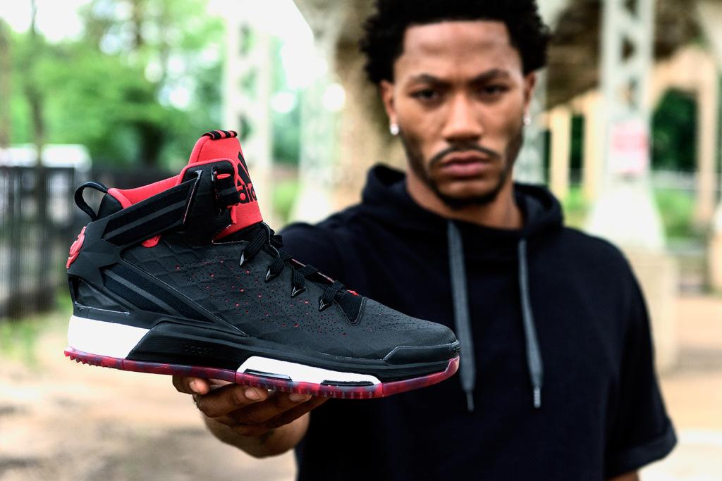 Derrick Rose dévoile sa dernière chaussure signature : la Adidas D Rose 6
