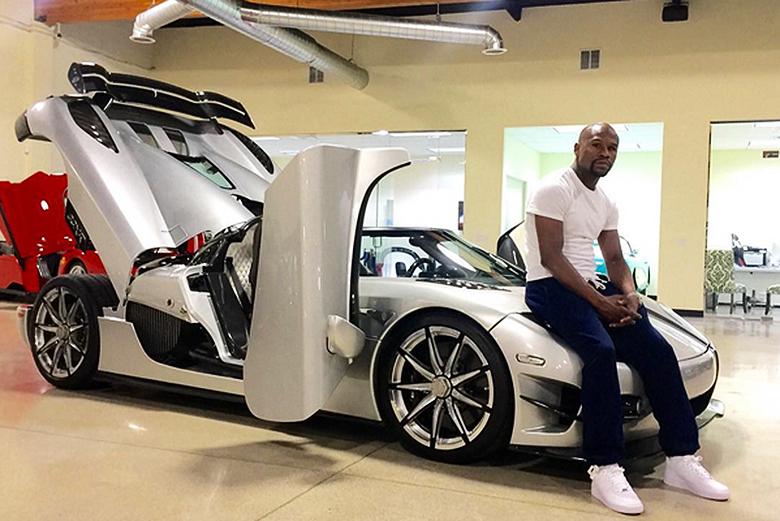 Floyd Mayweather Jr. fait une nouvelle folie à 4.8 Millions de dollars