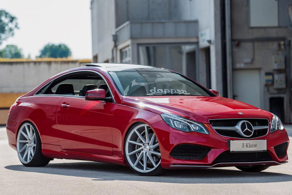 Vossen CVT Wheels dévoile la Mercedes-Benz C207 E-Class Coupe