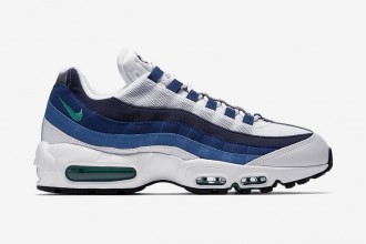 "Cocorico ! Nike équipe sa Air Max 95 OG du coloris ""French Blue"""