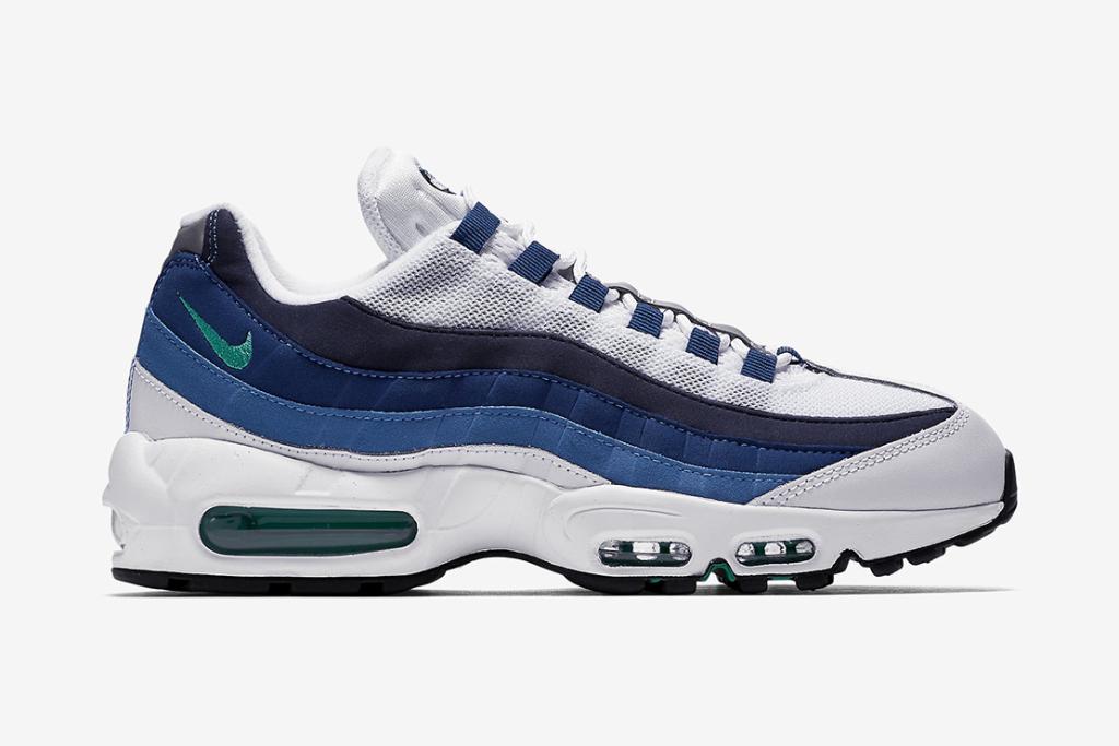 Cocorico ! Nike équipe sa Air Max 95 OG du coloris «French Blue»