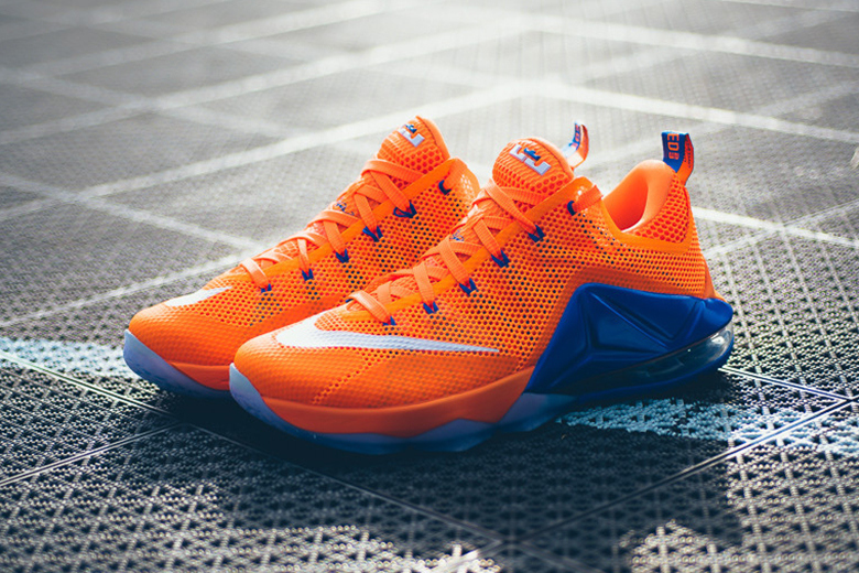"Aperçu de la nouvelle Nike LeBron 12 Low ""Total Orange"""
