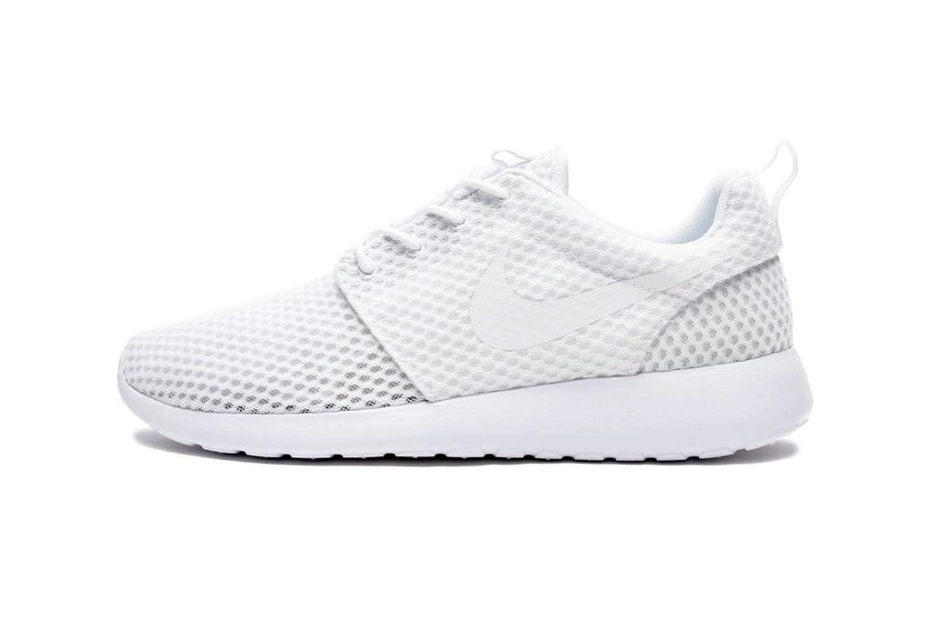 Aperçu de la Nike Roshe One BR White / Wolf Grey