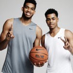 Nike Basketball signe Karl-Anthony Towns et D'Angello Russell