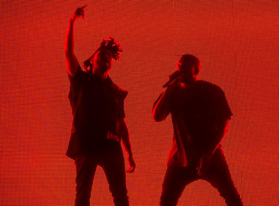 Travi$ Scott dévoile un extrait du morceau de The Weeknd produit par Kanye West