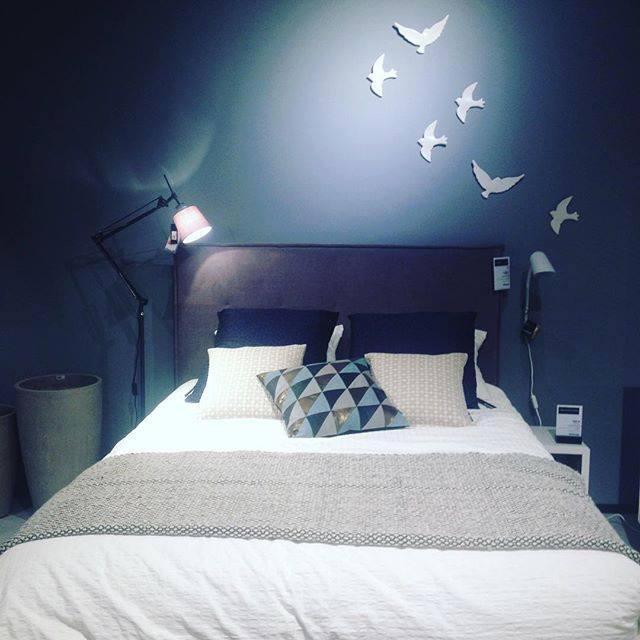 Une chambre à coucher, propice au rêve du côté de Bo Concept - crédit photo Paris Design Week
