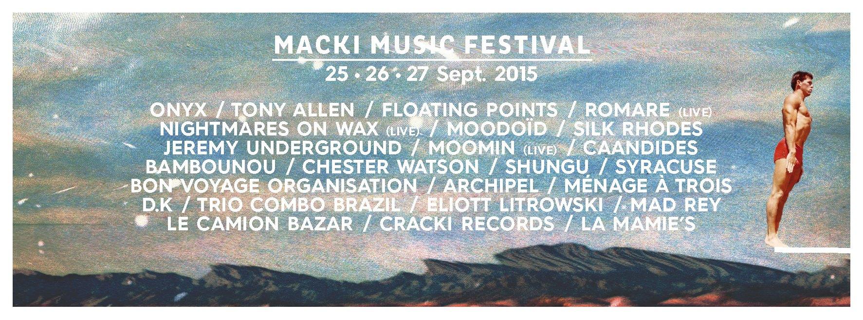 Gagnez vos places pour le Macki Music Festival !