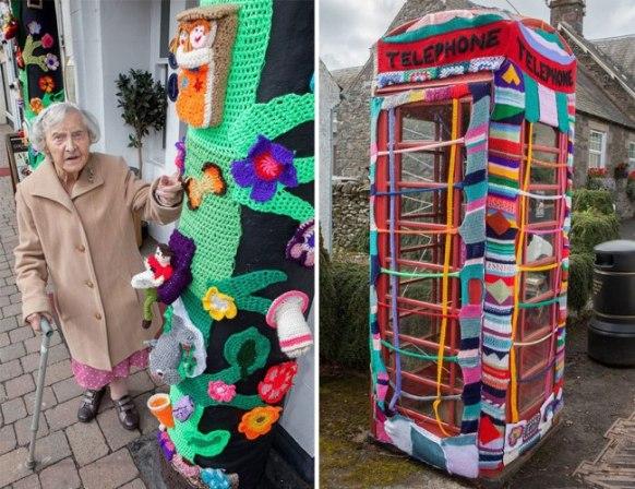 Grace Brett : serial crocheteuse
