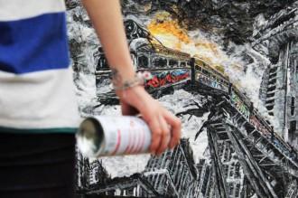 Sunday's Street Art #8 : Nazrin Musayeva