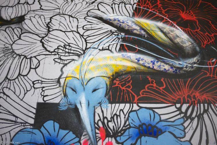 The Bridge : quand le street art est éco-responsable