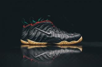 """La nouvelle Nike Air Foamposite Pro """"Gucci"""" en images"""