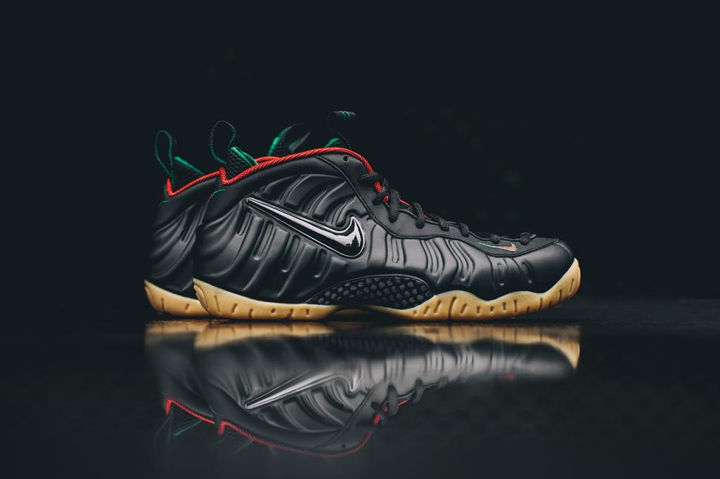 La nouvelle Nike Air Foamposite Pro «Gucci» en images