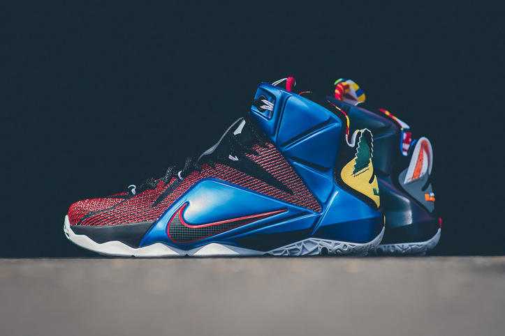 Quelques images de la nouvelle Nike LeBron 12 SE « What The »