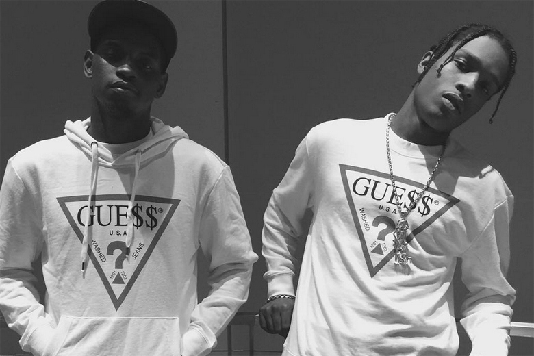 A$AP Mob x Guess : Un teaser de la Collaboration dévoilé !