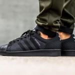 Adidas Originals dévoile une nouvelle Superstar Weave «Core Black»