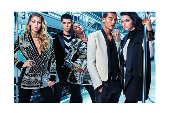 H&M x Balmain : la première image de campagne dévoilée !