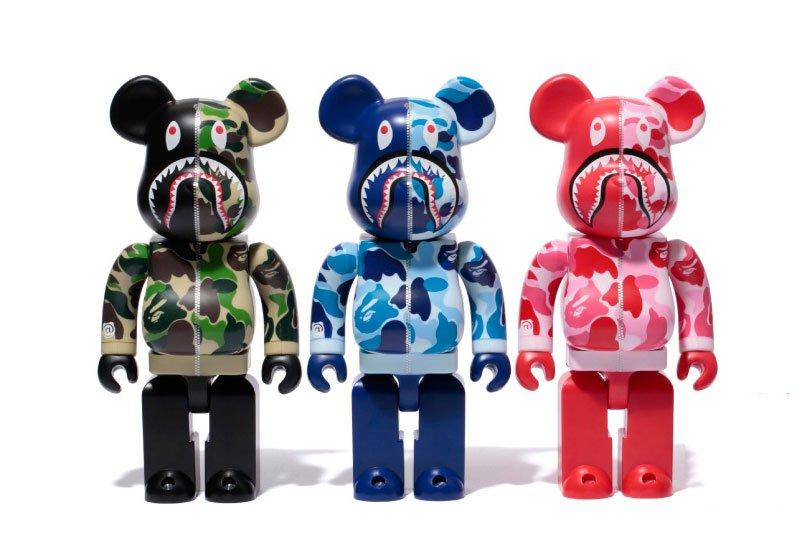 BAPE x Medicom Toy : les jouets qui ont du style !