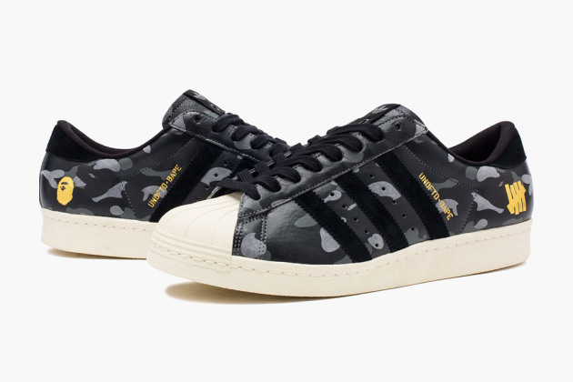bape undefeated adidas