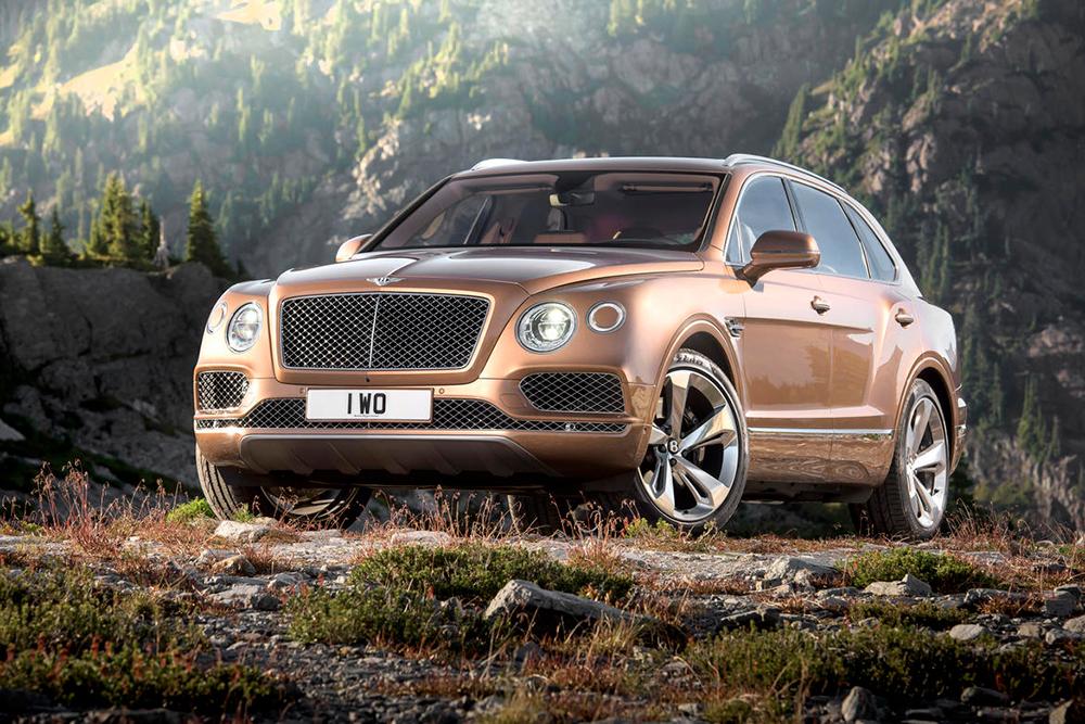 Le nouveau SUV Bentley Bentayga officiellement dévoilé !