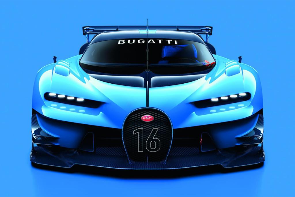 Bugatti dévoile sa Vision Gran Turismo Concept !