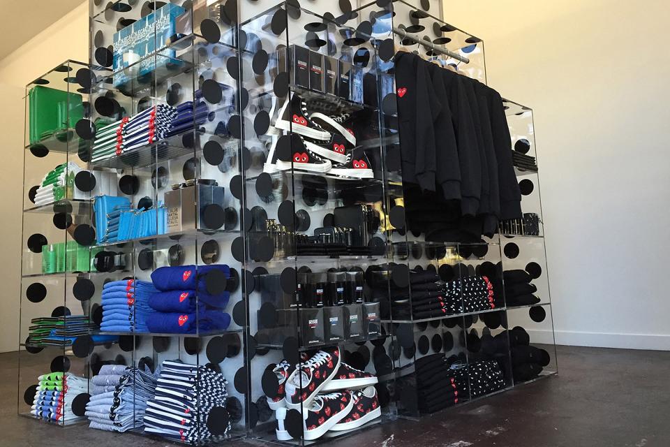 Comme Des Garçons ouvre un nouveau shop à New York !