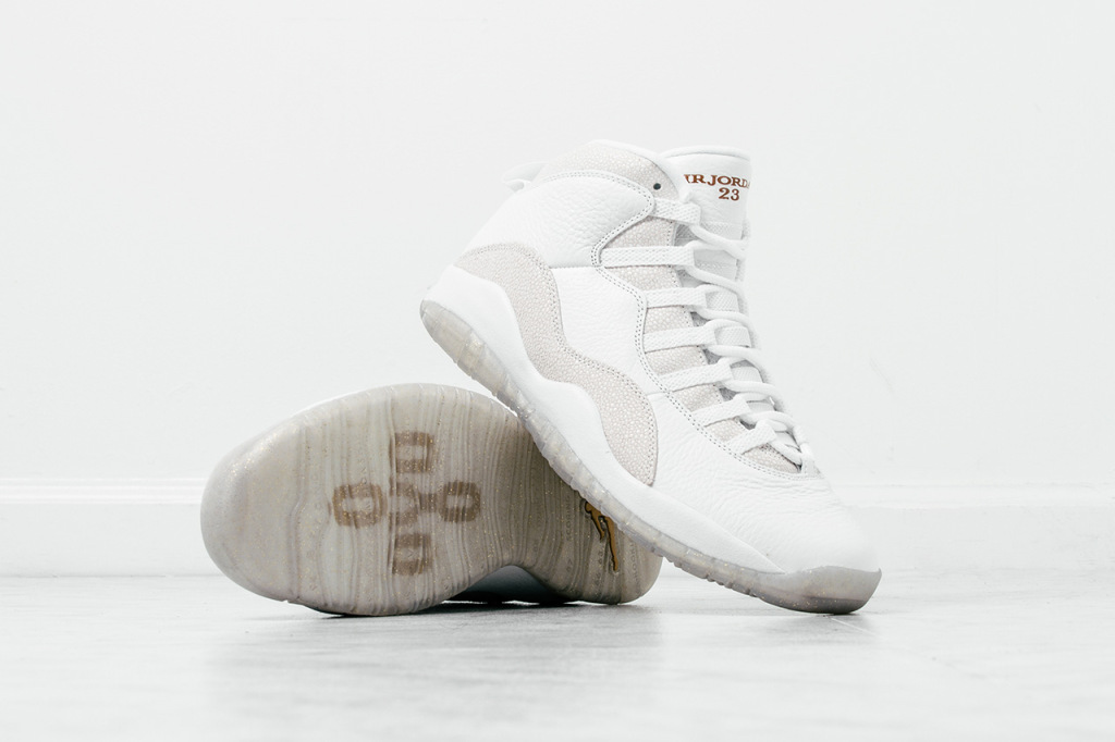 "Zoom sur la collab' Drake x Air Jordan 10 Retro ""OVO"""