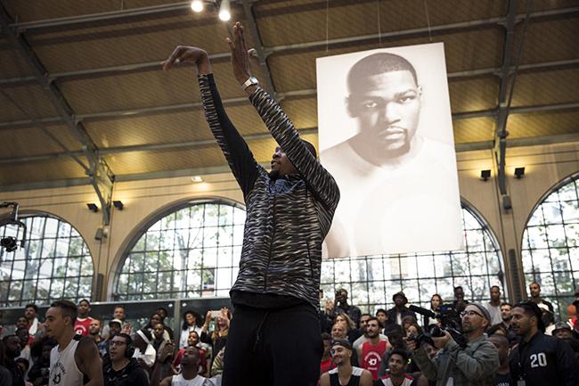Kevin Durant Paris Nike KD Tour 2015