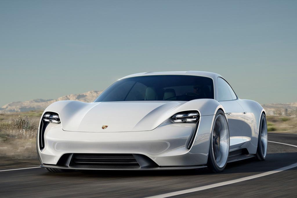 Porsche Mission E Concept : le futur électrique de la marque allemande