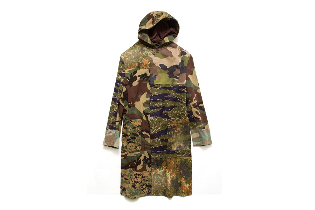 Yohji Yamamoto dévoile un nouveau manteau Camouflage