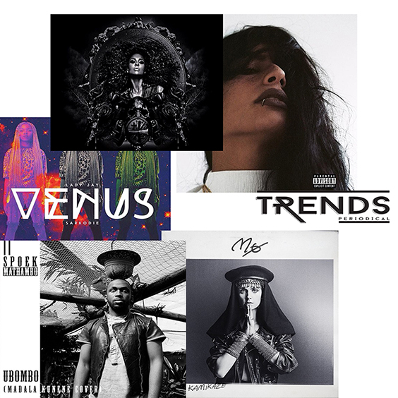 TRENDS playlist du 16 Octobre – Week-End Apothéose
