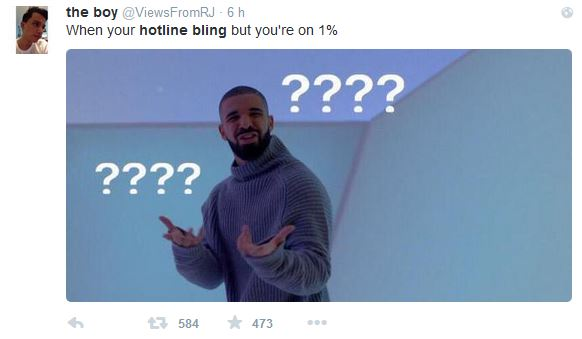 Hotline Bling - Meme 01