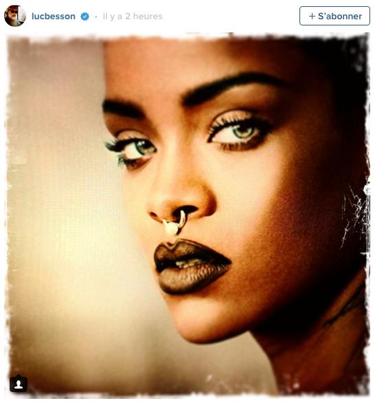 Rihanna luc besson