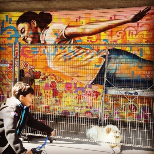 Sunday's Street Art #11 : Joel Bergner
