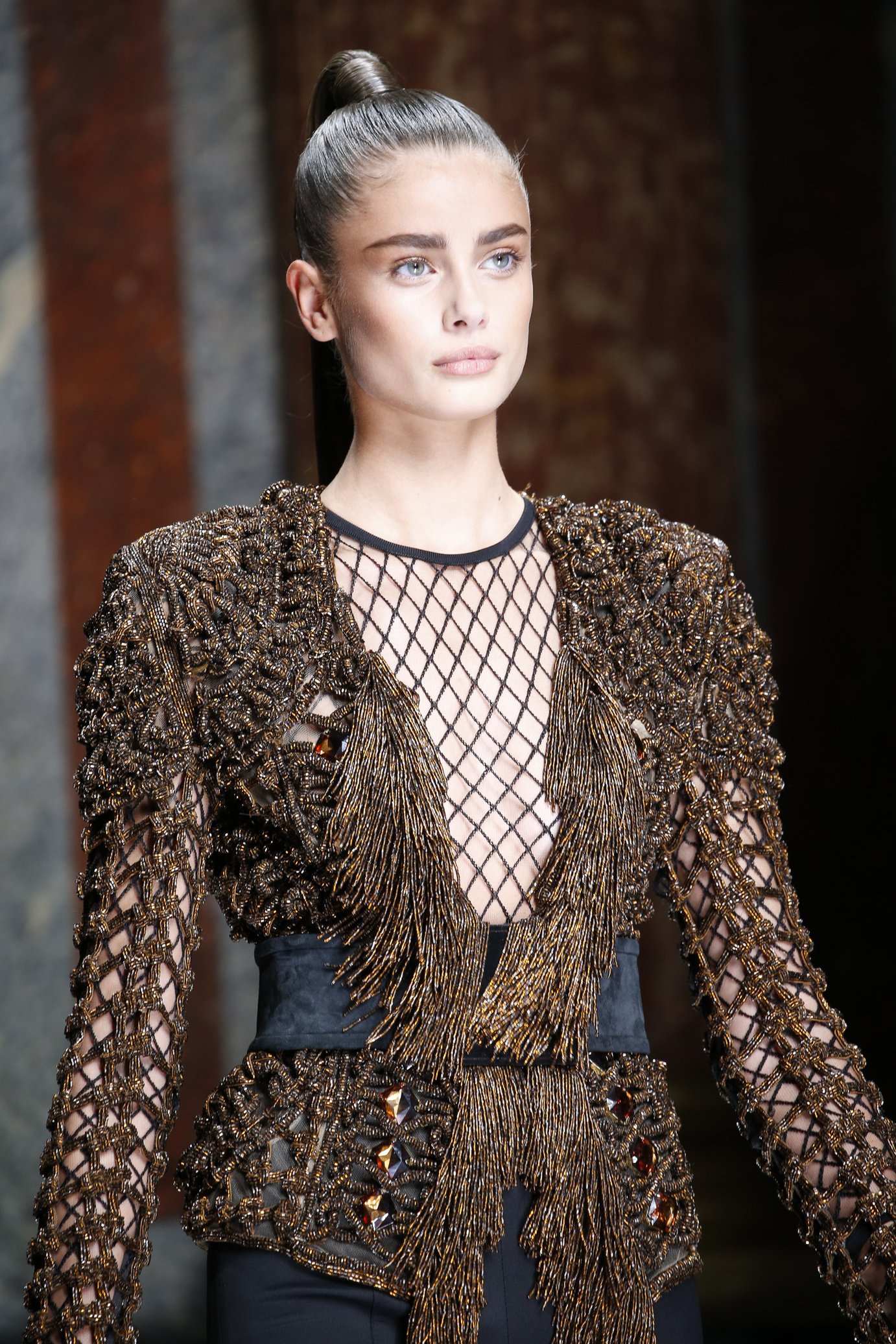 balmain fashion week printemps été 2016