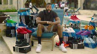 Adidas gâte James Harden avec un camion rempli de sneakers !