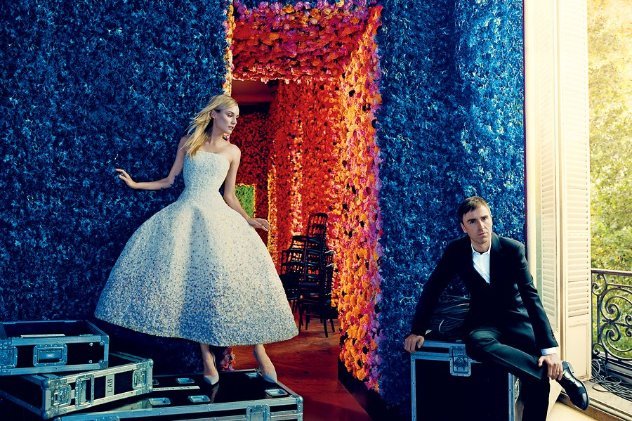 Raf Simons annonce sa démission de la Maison Dior