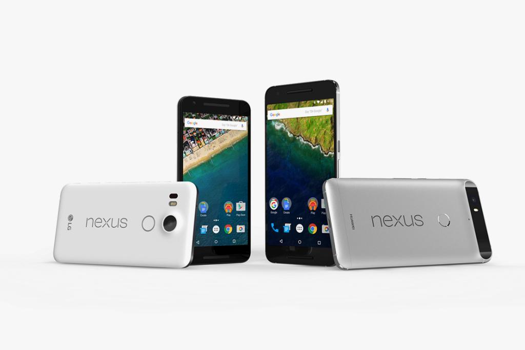 Google répond à Apple avec les nouveaux Nexus 5X et 6P